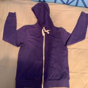 FOREVER 21 Blue hoodie